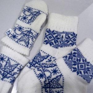 Вязанные носки для Тюменьэнерго