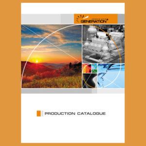 Серия каталогов по разным направлениям деятельности ПГ «Генерация»