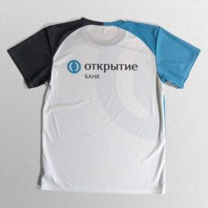 Футболки для банка «Открытие»
